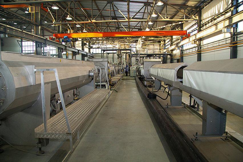 Запуск нового полимерного завода